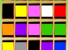 Busdjurens Fotomemospel, 20 brickor