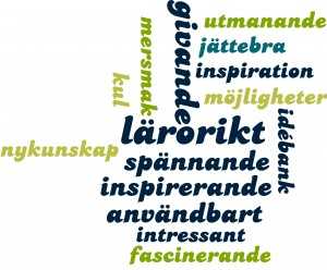 Ordmoln från inspiration i Finspång