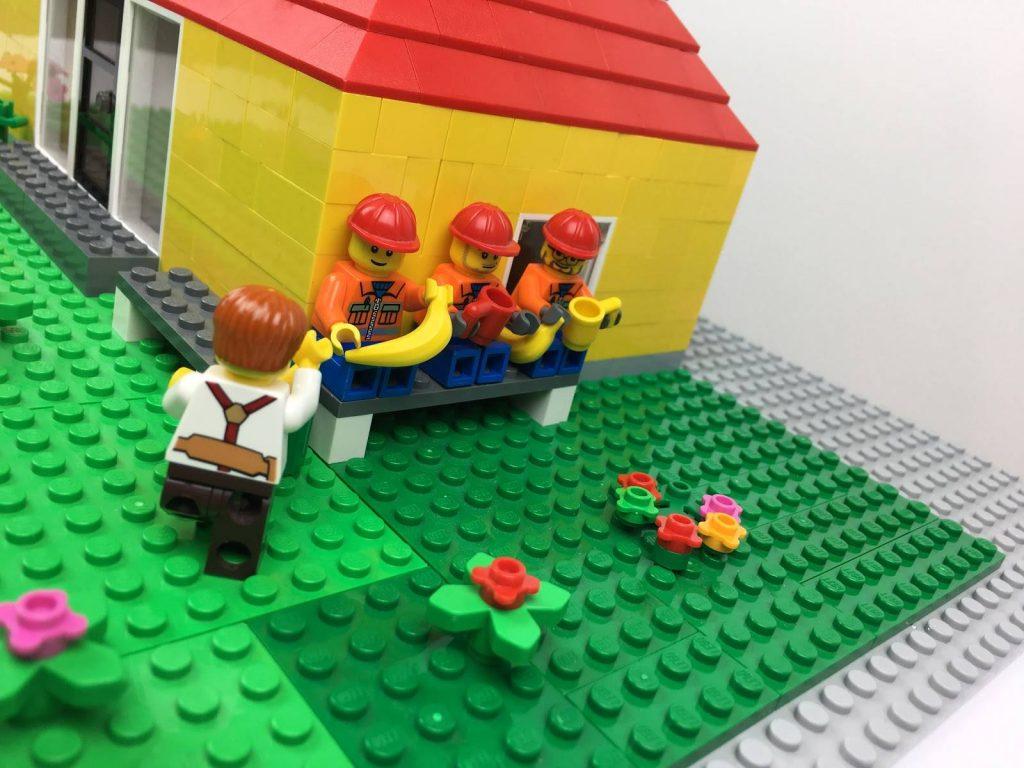 Stopmotion-film i lego