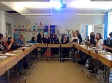 Besök på Högalidskolan i Finspång